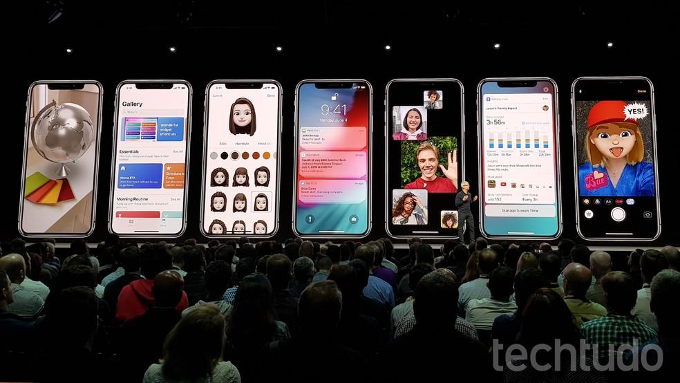 Anunciado nesta segunda-feira (4), o iOS 12 estará disponíveis em celulares mais antigos, como o iPhone 5S (Foto: Thássius Veloso/TechTudo)