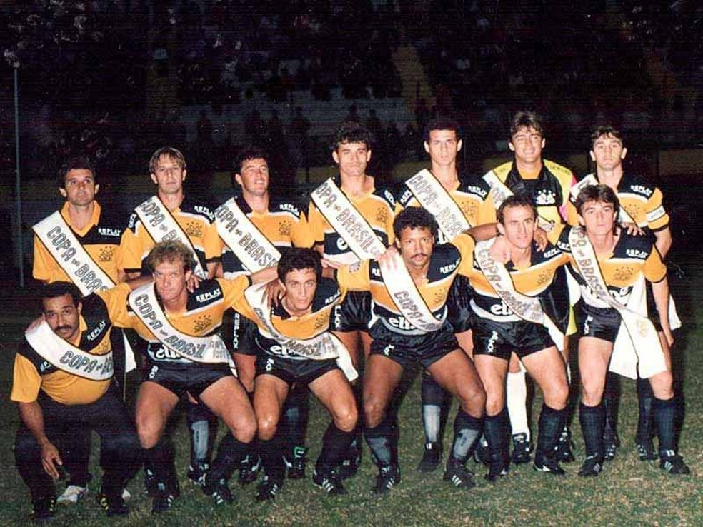 Criciúma foi campeão da Copa do Brasil em 1991 — Foto: Assessoria/Criciúma