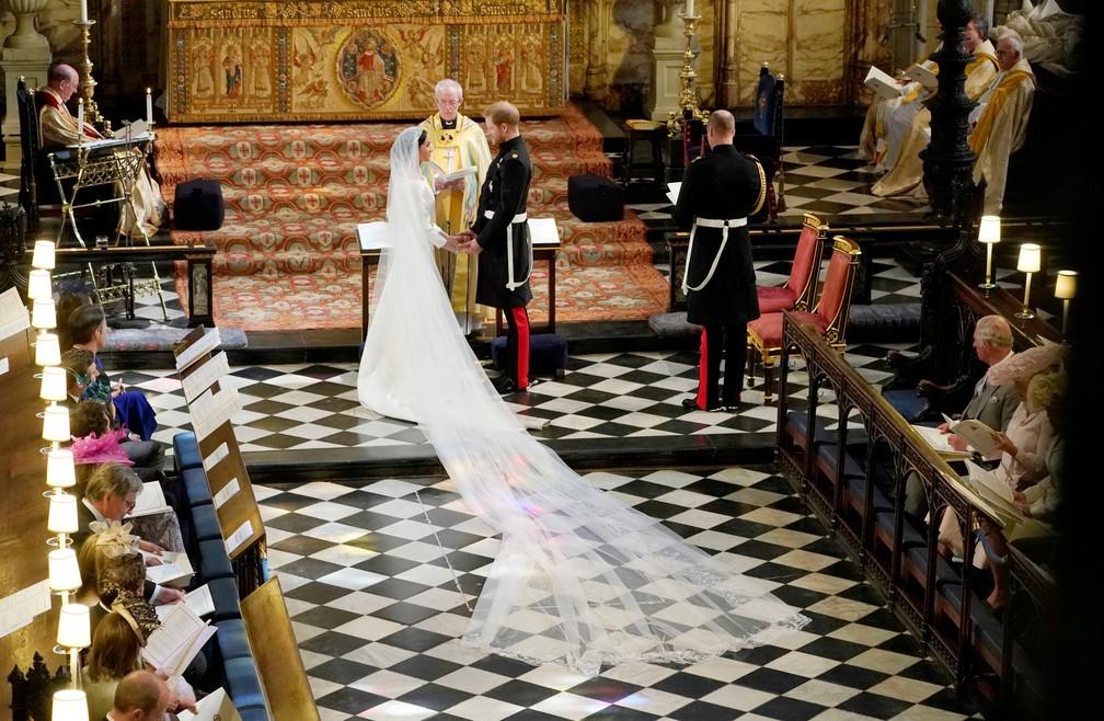 Casamento de Príncipe Harry e Meghan Markle (Foto: Owen Humphreys/Pool via Reuters)