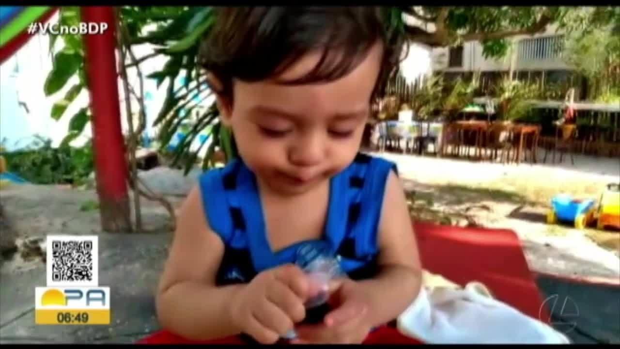 Quadro 'Pequeninos' fala sobre higiene bucal dos bebês
