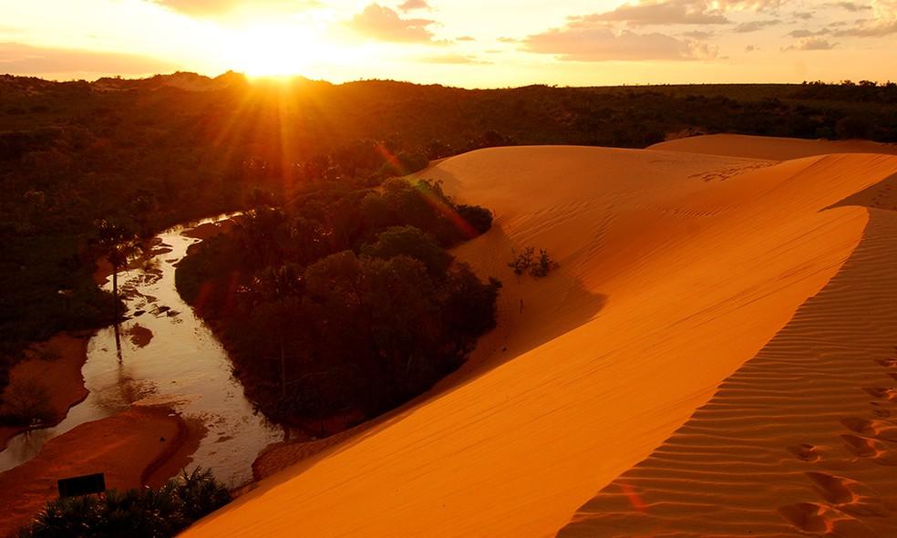 Parque do Jalapão fica na região sudeste do Tocantins — Foto: Divulgação/Washington Luiz