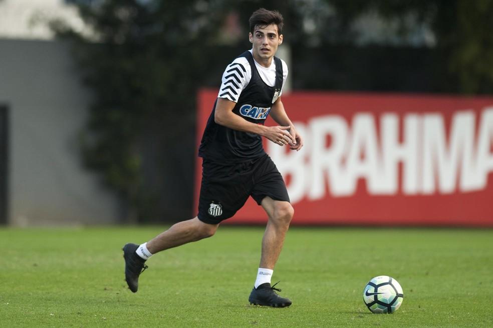 Léo Cittadini está na mira de Dorival (Foto: Ivan Storti/Santos FC)