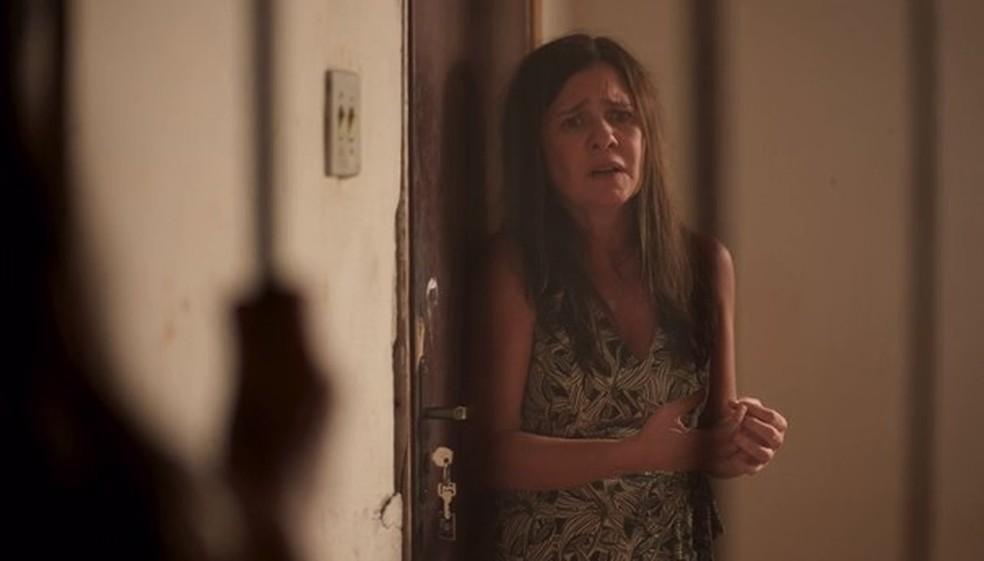 Thelma confessa os crimes — Foto: Globo