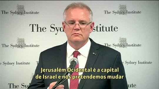 Austrália reconhece Jerusalém Ocidental como capital de Israel