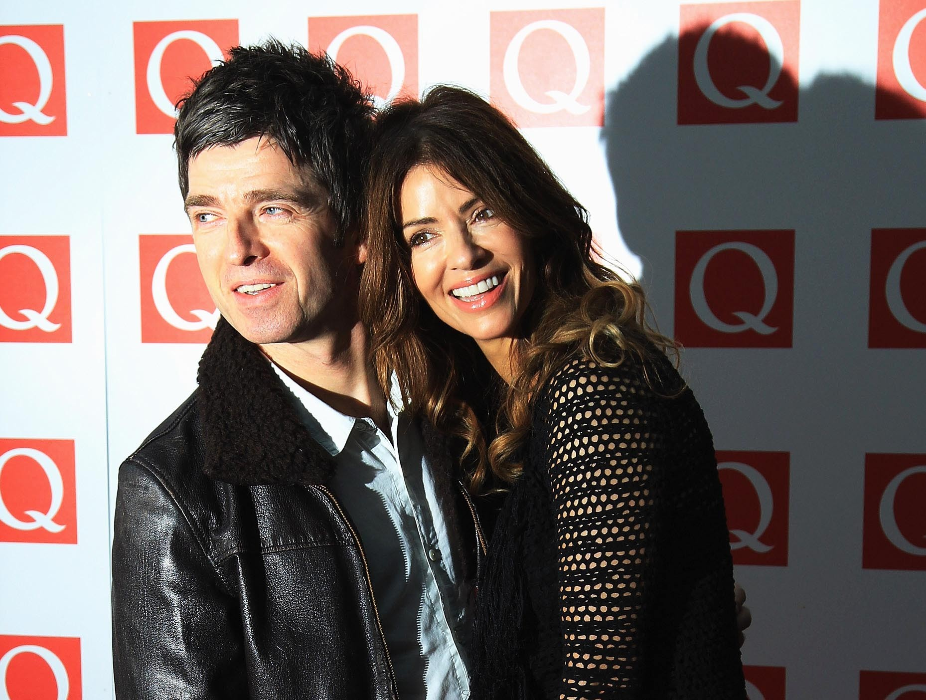 Noel Gallagher e Sara MacDonald (Foto: Getty Images)