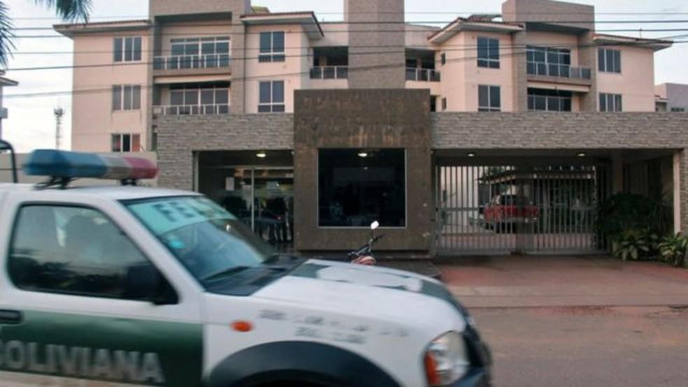 Autoridades invadiram a casa de Añez na cidade de Trinidad, localizada a cerca de 600 km de La Paz — Foto: Getty Images