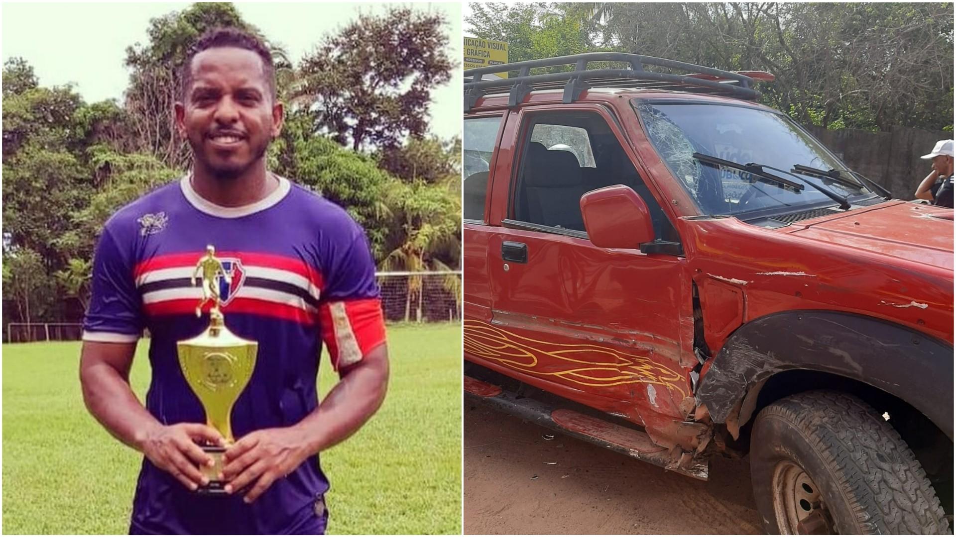 Acidente com moto mata ex-jogador na Estrada da Maioba, na Grande São Luís