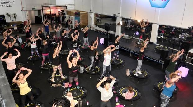 A academia de Kimberlee recebe 35 mil pessoas por mês (Foto: East News Press Agency)