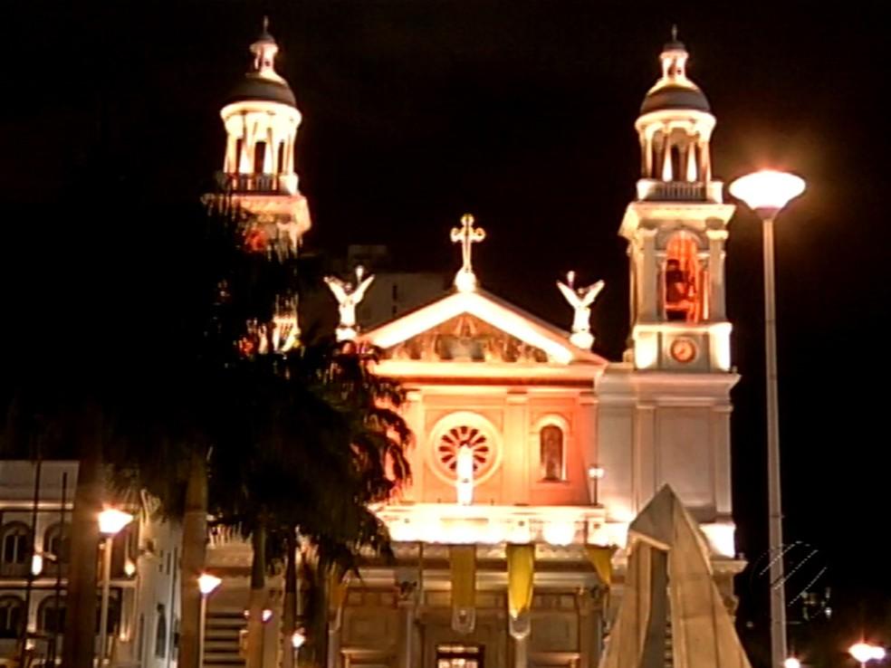 Cerimônia anuncia abertura oficial do Círio de Nazaré em Belém (Foto: Reprodução/TV Liberal)