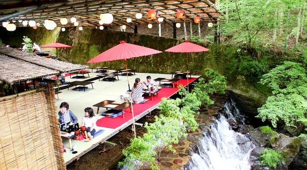 Restaurante Hirobun fica em Quioto, no Japão (Foto: Divulgação)