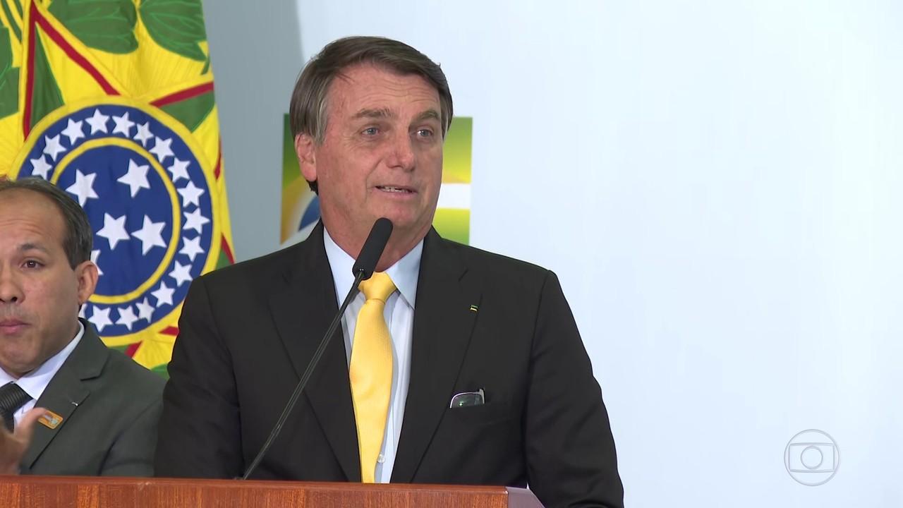 Presidente Jair Bolsonaro volta a dizer que vacina contra Covid não será obrigatória