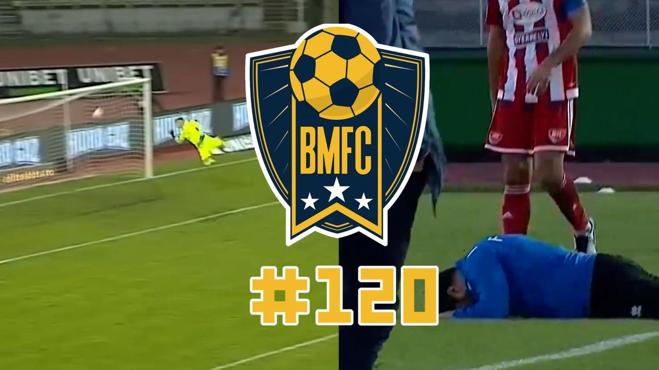 BMFC 120: golaços imitando Rafael Sóbis e chilique de técnico na Romênia