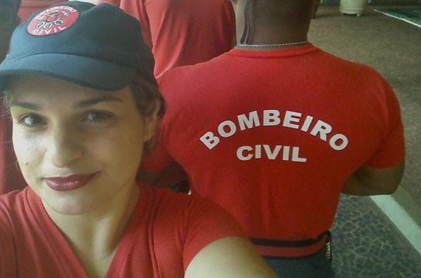 Joyce Luma é bombeiro civil e denunciou o caso no Facebook (Foto: Reprodução Facebook)