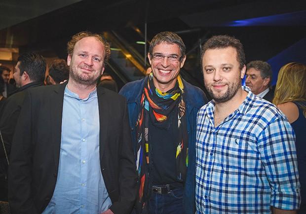 Benoit Mathurin, Olivier Anquier e Thomas Troisgros (Foto: Alexandre Virgílio/ Divulgação)