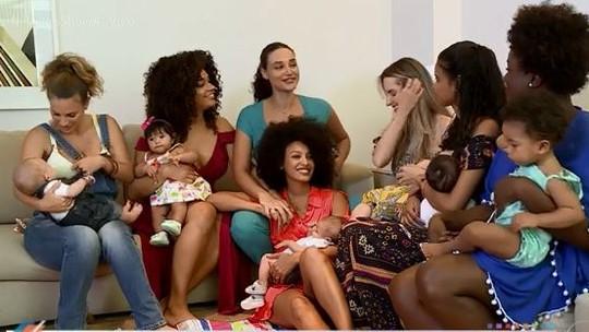 Atrizes trocam experiências sobre maternidade