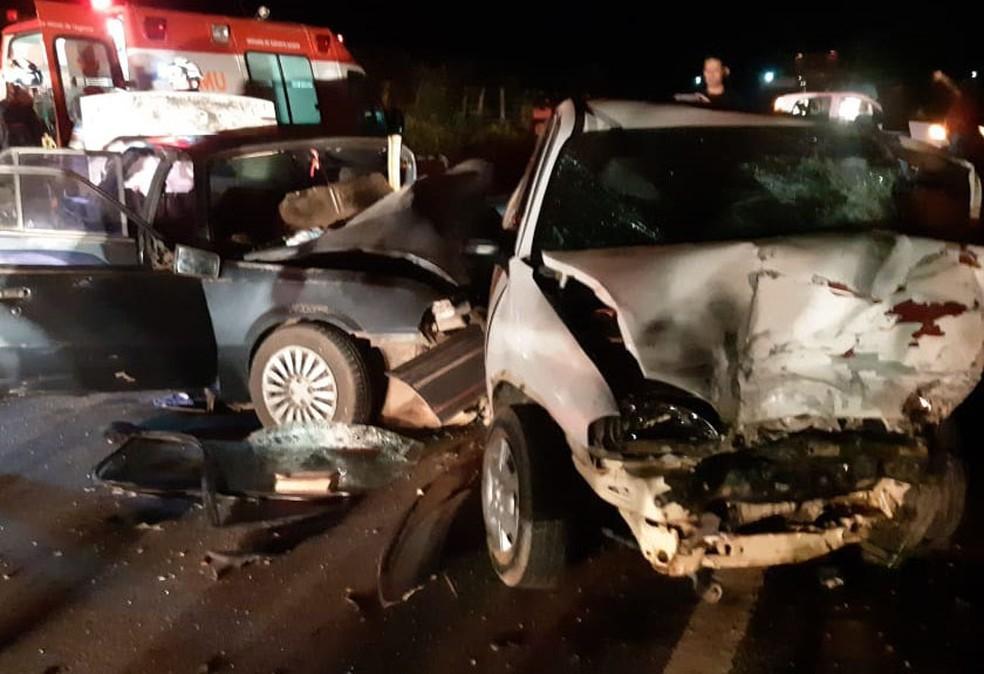 Caso ocorreu na altura de Nova Viçosa, no domingo (19).  — Foto: Ronildo Brito/Site Teixeira Hoje
