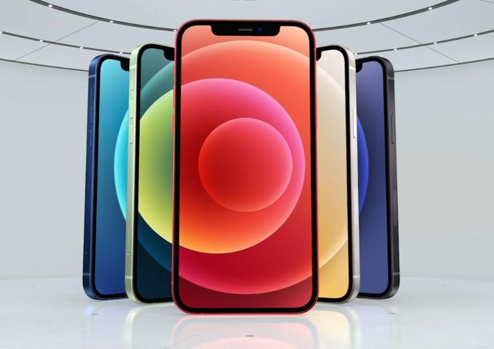 iPhone 12. — Foto: Reprodução/Apple