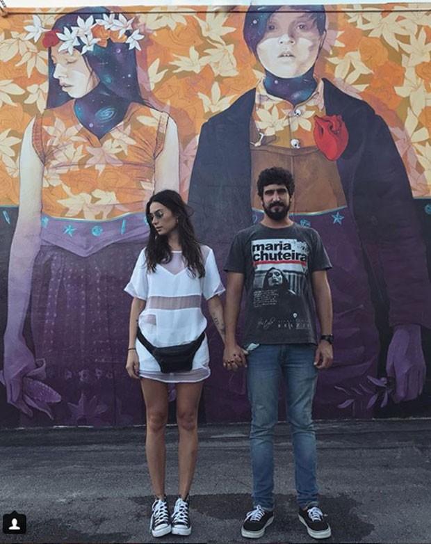 Thaila Ayala e Renato Góes (Foto: Reprodução Instagram)