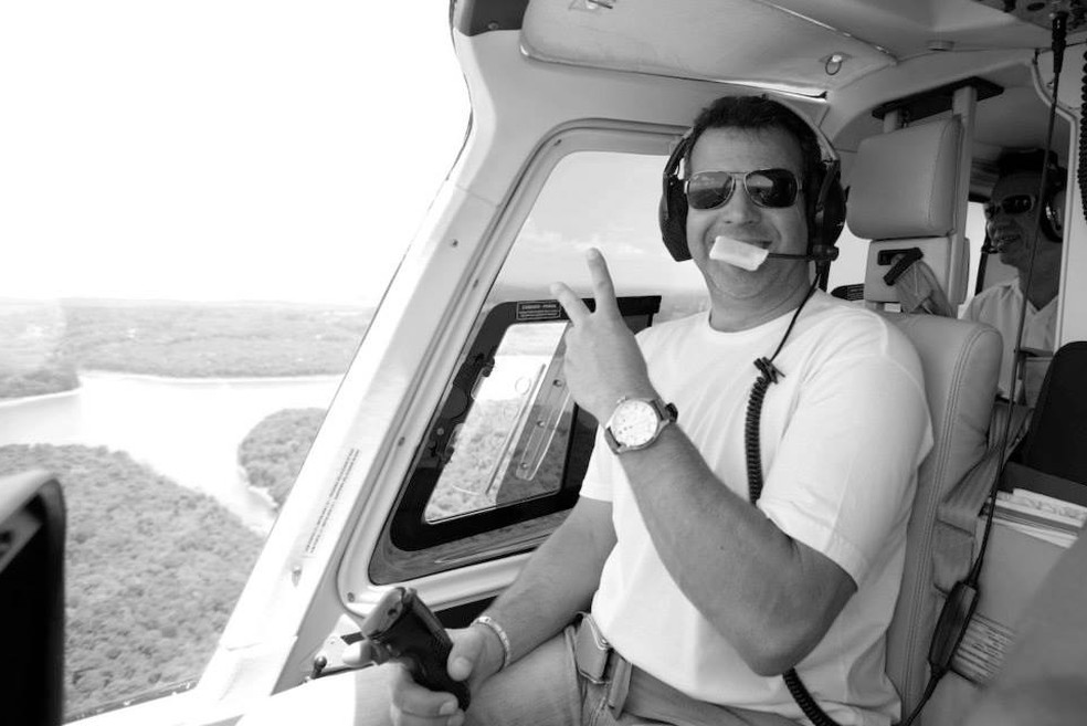 Ronaldo Quattrucci, piloto morto em acidente com Boechat — Foto: Reprodução/Facebook