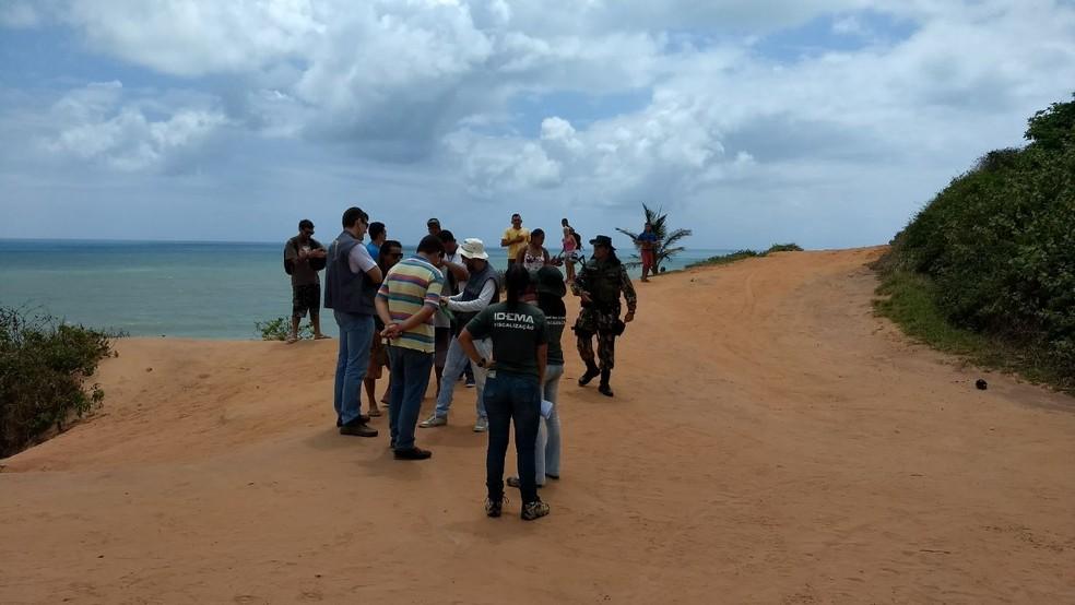 Vários órgãos de proteção ambiental participam da ação conjunta (Foto: Divulgação/ Cipam)
