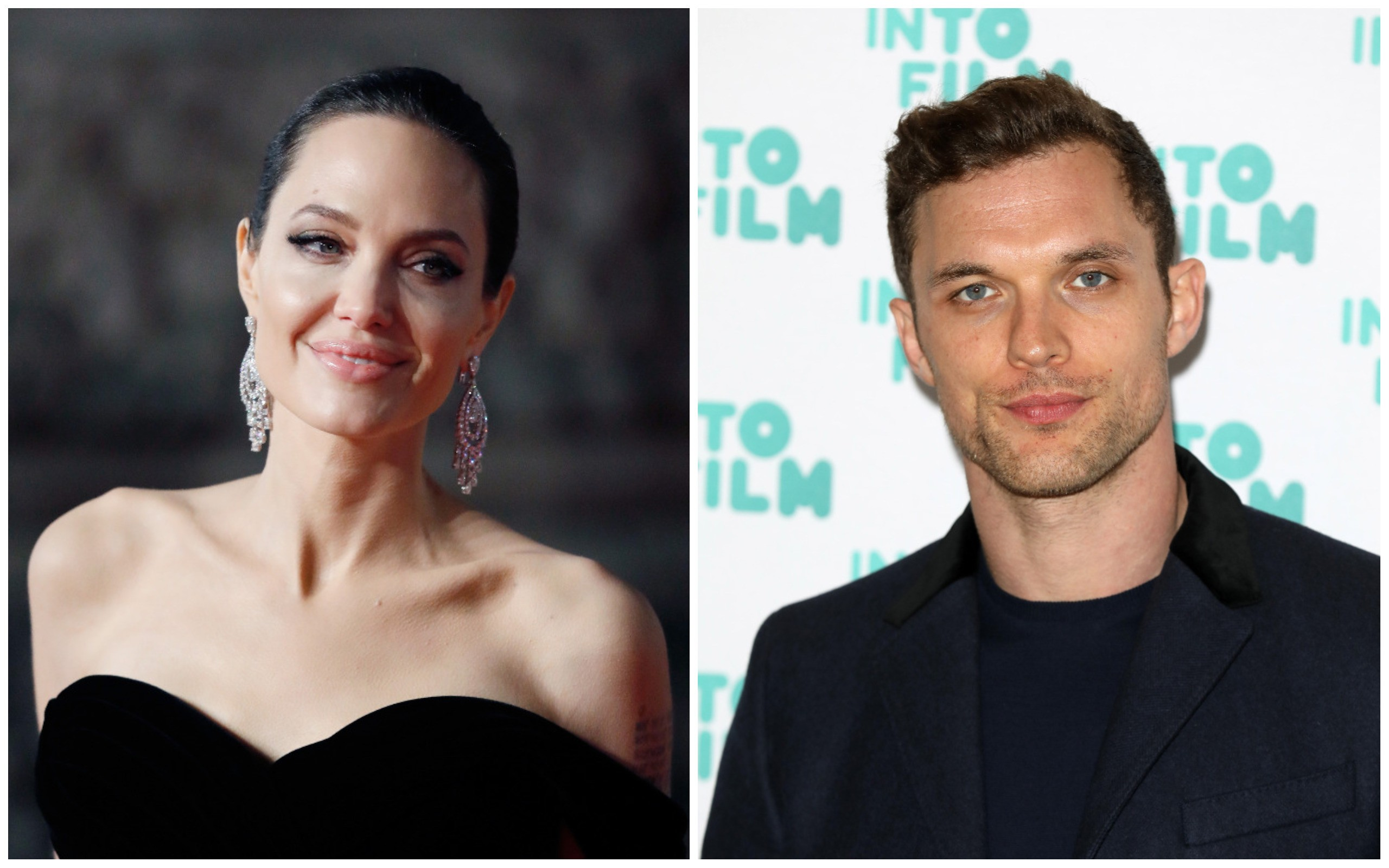 Angelina Jolie e Ed Skrein (Foto: Getty Images)