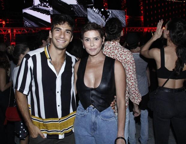 Hugo Moura e Deborah Secco (Foto: AgNews/Wallace Barbosa)