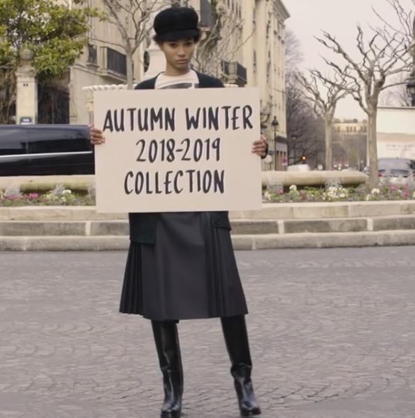 Dior inverno 2019 (Foto: Instagram/Reprodução)