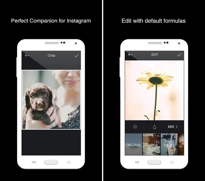 MIX é um aplicativo com várias ferramentas para editar fotos (Foto: Divulgação/MIX)
