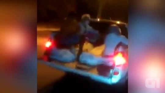 Sem ambulância, pacientes são transportados em carroceria no Piauí; vídeo