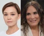Julia Lemmertz e Regina Duarte | TV Globo