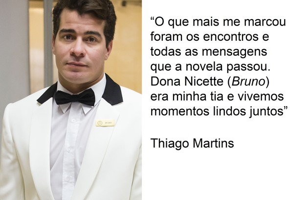 Tihago Martins interpretou Júlio na novela  (Foto: TV Globo)