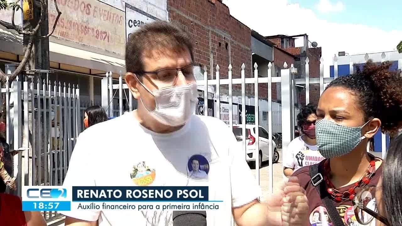A agenda dos candidatos à Prefeitura de Fortaleza nesta quarta-feira (07)