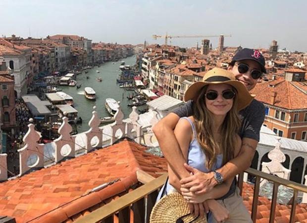 Sthefany Brito e o namorado, Igor Raschkovski (Foto: Reprodução/Instagram)