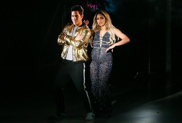 Lexa e Christian Chavez (Foto: Manuela Scarpa / Brazil News )