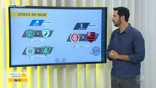 Saiba quais são os jogos desta quarta pela Libertadores e Campeonato Brasileiro série B