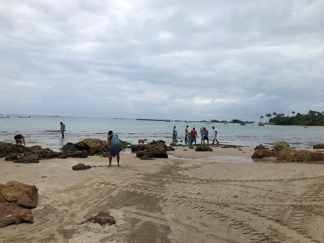 Manchas de óleo atingem praias de Morro de São Paulo, Boipeba e Garapuá, na Bahia; prefeitura de Cairu interdita praias - Notícias - Plantão Diário