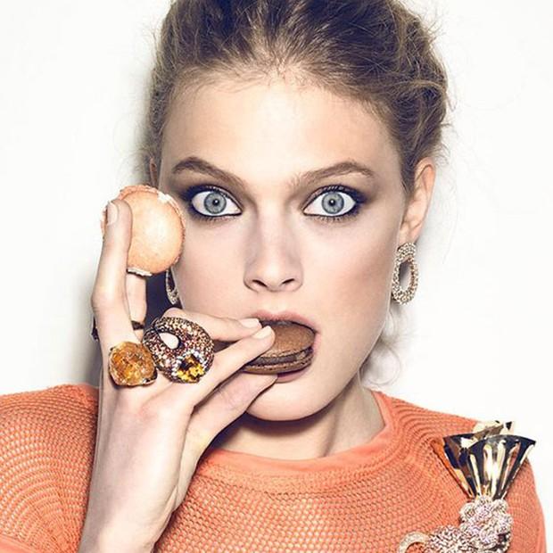 Constance Jablonski para a Vogue Brasil  (Foto: Henrique Gendre/Arquivo Vogue)