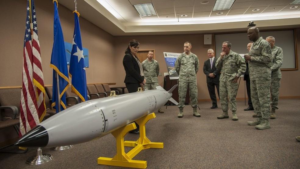 Projeto é desenvolvido em um laboratório da base da Força Aérea de Kirtland, em Albuquerque (Foto: Força Aérea dos EUA/Divulgação)