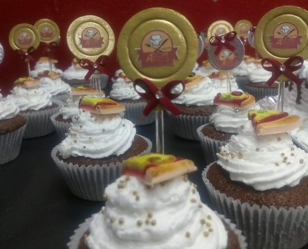 Filipe fez festa para comemorar fim do bolão (Foto: Arquivo pessoal)