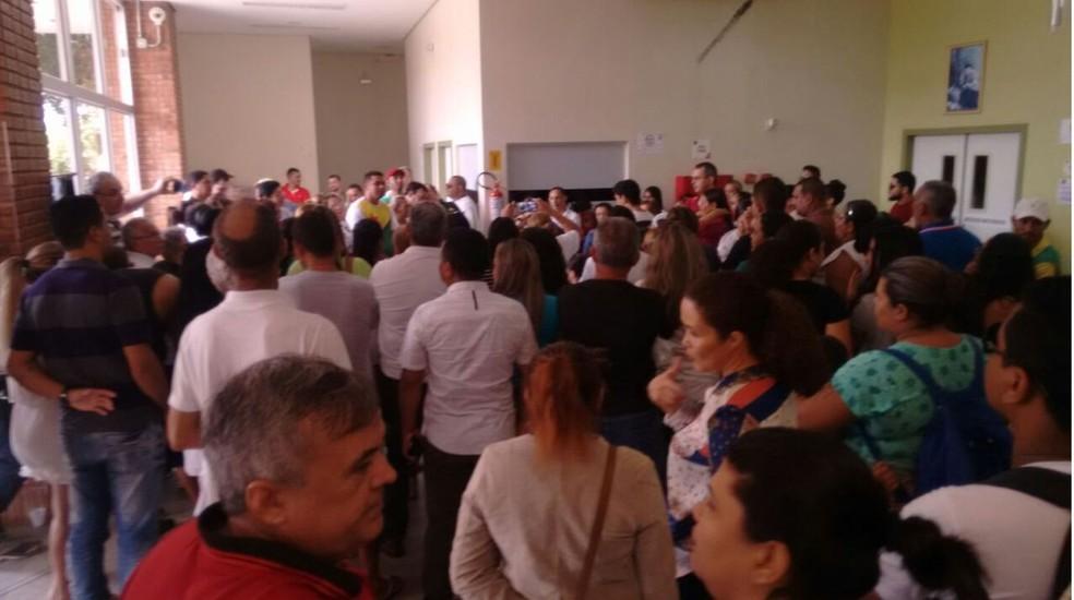 Servidor diz que trabalhou mais de 20 anos no Huerb (Foto: Divulgação/Sindicato dos Médicos)