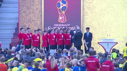 Brasil fica fora do Tour da Taça da Copa; Argentina, Chile e Colômbia estão dentro