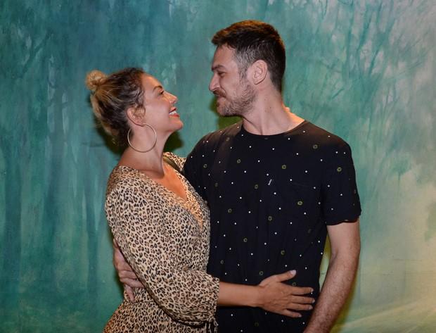 Fabíola Nascimento e Emílio Dantas (Foto: Francisco Cepeda / AgNews)