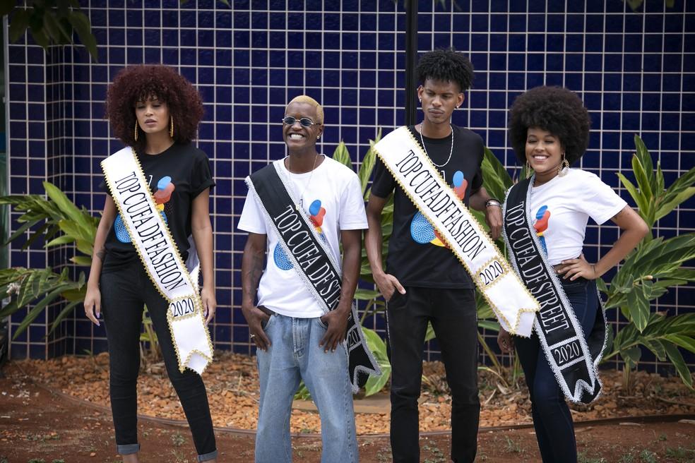 Vencedores do concurso Top Cufa-DF 2020 — Foto: Bruno Batista/Divulgação