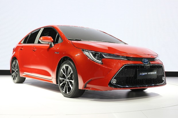 Corolla híbrido chinês é chamado de Levin Hybrid (Foto: Divulgação)