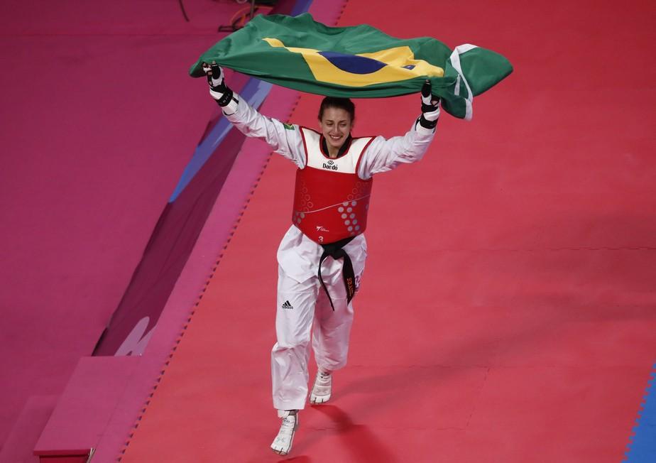 Milena Titoneli fecha campanha histórica do Brasil com medalha de ouro no taekwondo