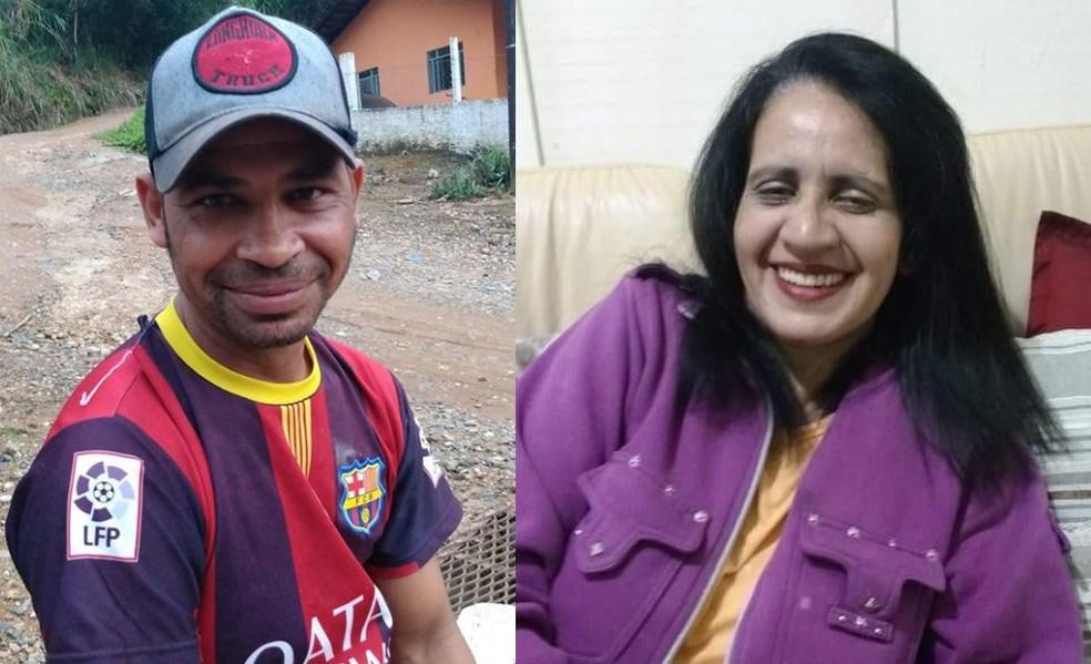 José Cleison Alves e Maria Francisca Barbosa — Foto: Reprodução/Facebook