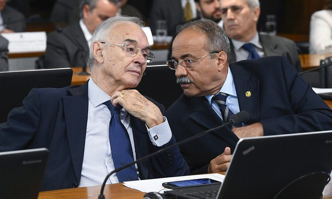Arolde de Oliveira e Chico Rodrigues