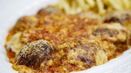 Parmegiana com Espinafre do Chef Ravioli