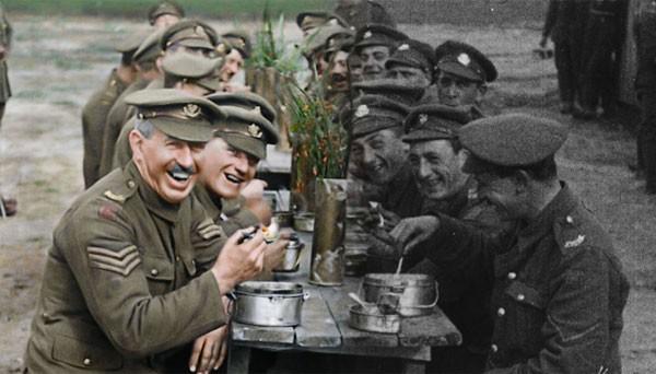 Imagens de arquivo da Primeira Guerra Mundial (1914-1918) foram colorizadas e convertidas em 3D pela primeira vez  (Foto: Reprodução)