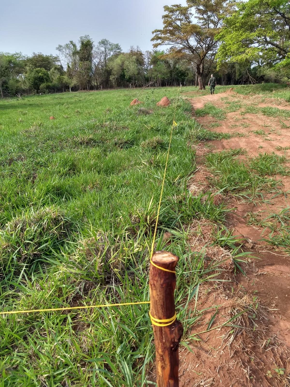 Após denúncia, Polícia Militar Ambiental constata parcelamento irregular de solo em sítio e adverte proprietário